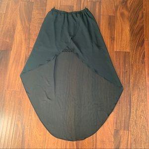 HM Semi Sheer Maxi skirt